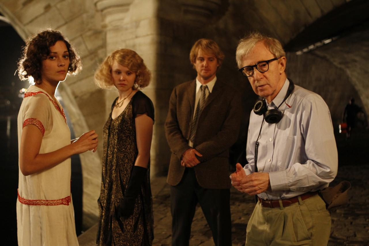 Woody Allen por Meia-Noite em Paris - Oscar 2012