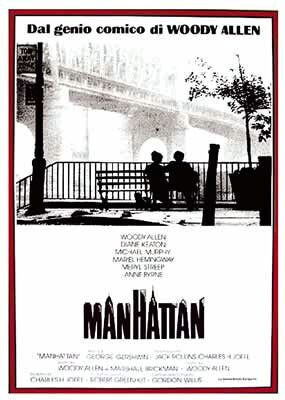 Manhattan Poster 1 The Woody Allen Pages The Woody Allen