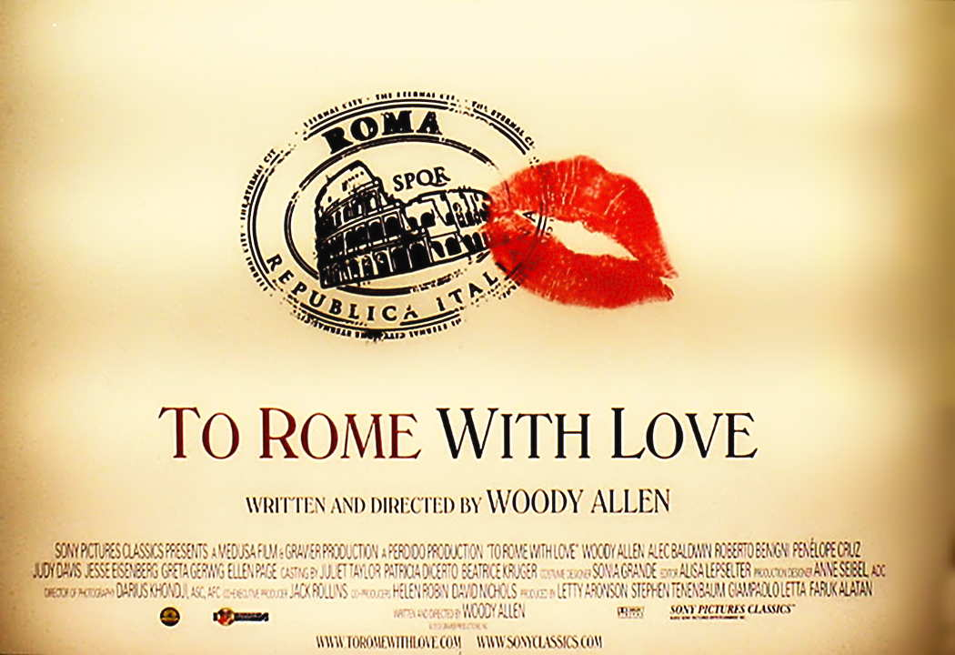 To Rome With Love - The Woody Allen Pages