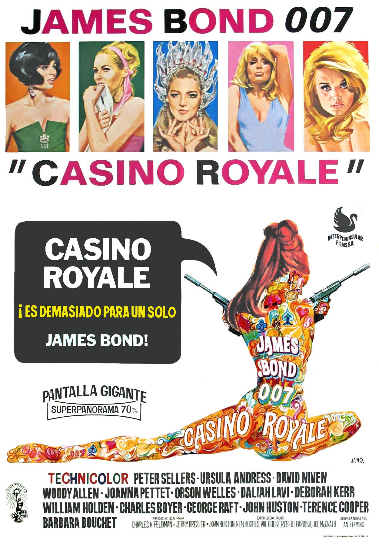 casino royale 1967 quotes