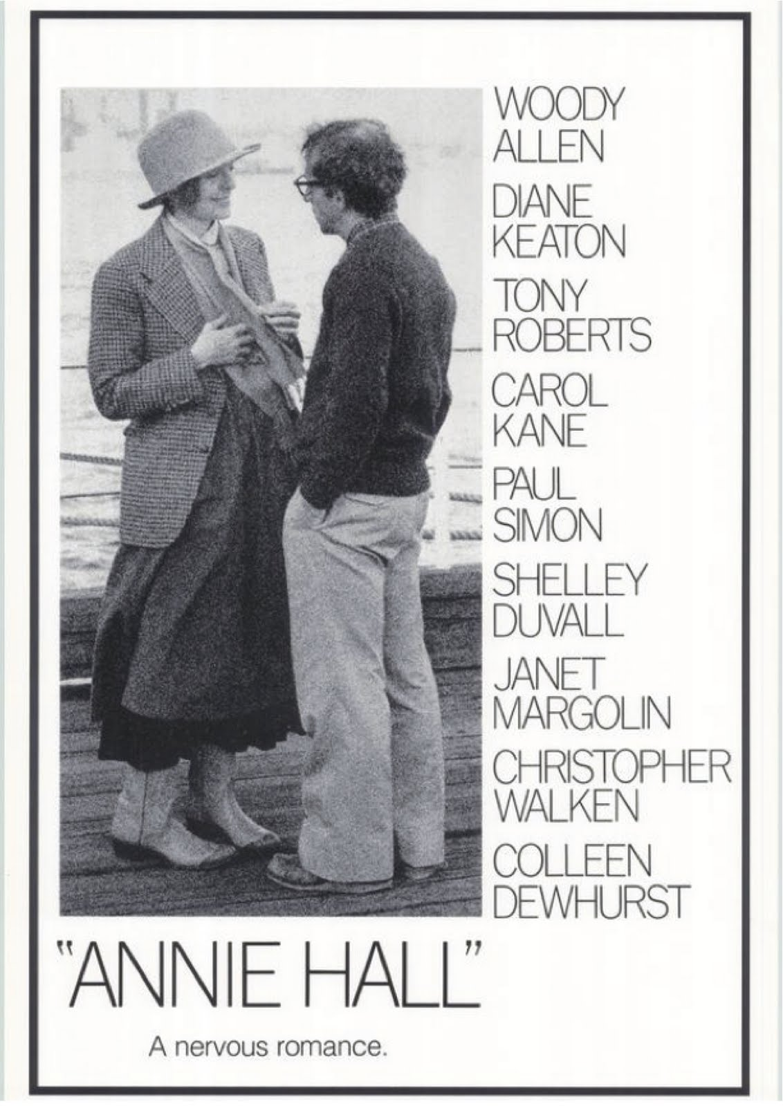 annie hall and manhattan two different Another very interesting part is diane keaton is in both manhattan and annie hall, and in both, she has a relationship with woody allen however, this happens over the whole span of annie hall, rather than only a small portion of manhattan.