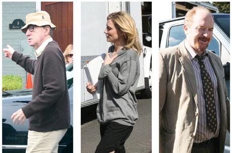 Woody Allen, Cate Blanchett, Louis C.K.