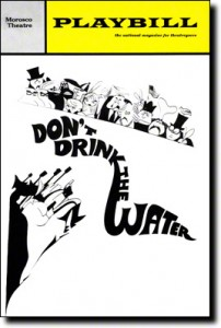 Dont-Drink-the-Water-Playbill-11-66