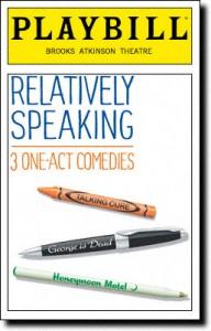 Relatively-Speaking-Playbill-09-11
