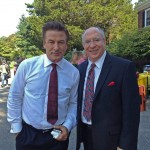 Alec Baldwin with Kenneth Edelson