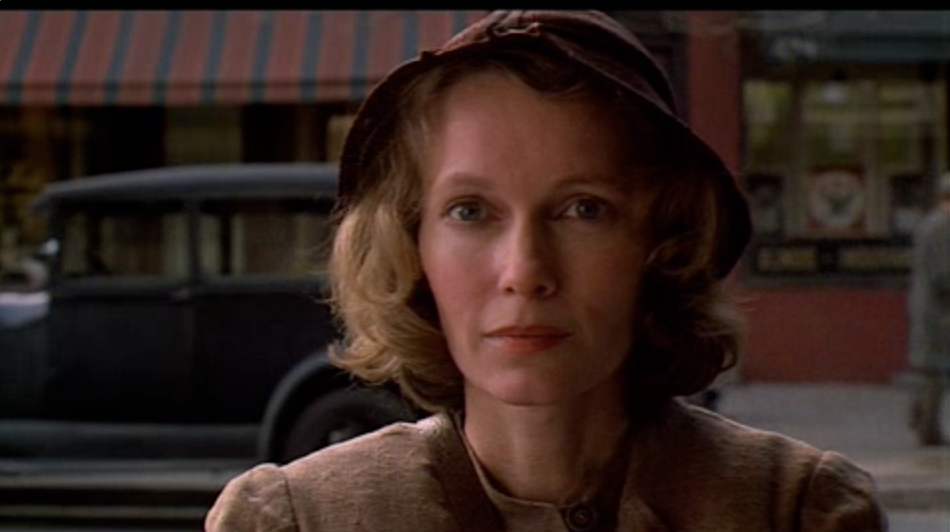 Mia Farrow in The Purple Rose Of Cairo