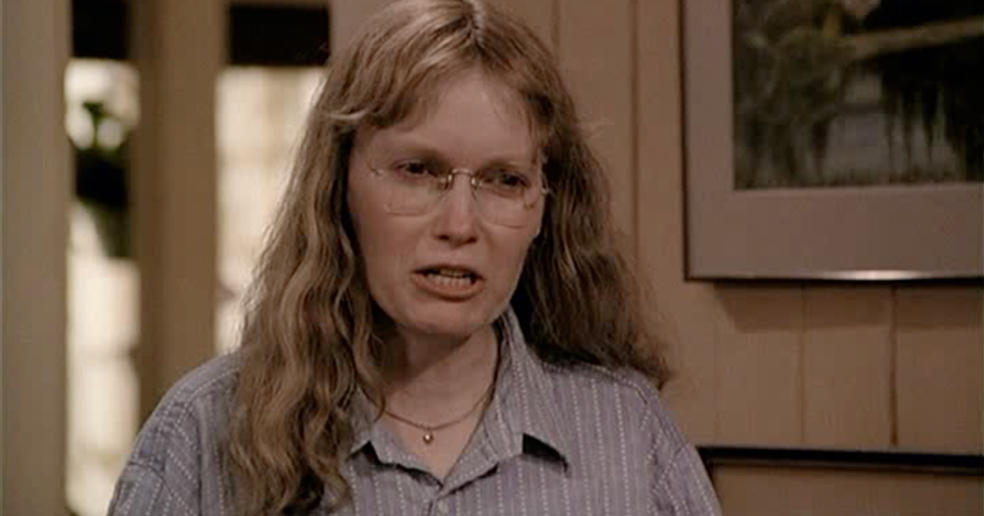 Mia Farrow in September