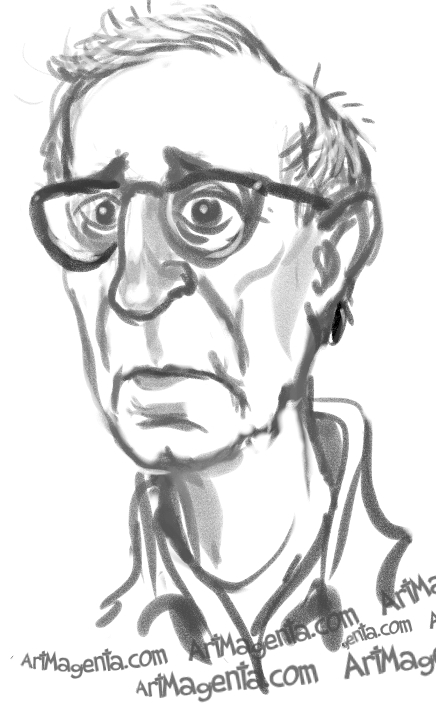 Dec Woody-AllenArtMagenta