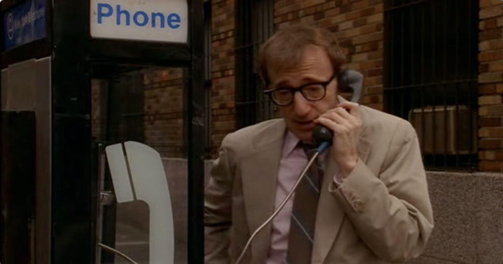 Woody Allen as Larry Lipton in Manhattan Murder Mystery