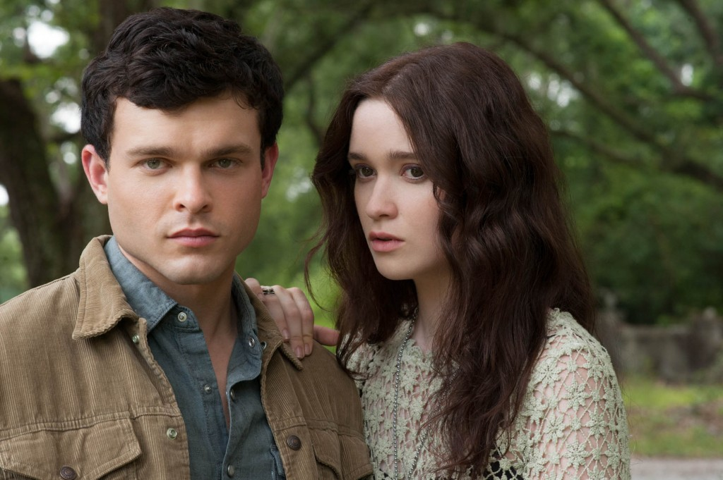 Alden Ehrenreich and Alice Englert