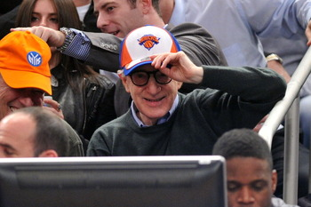 Celebrities Attend The Dallas Mavericks Vs New York Knicks Game - February 2, 2011