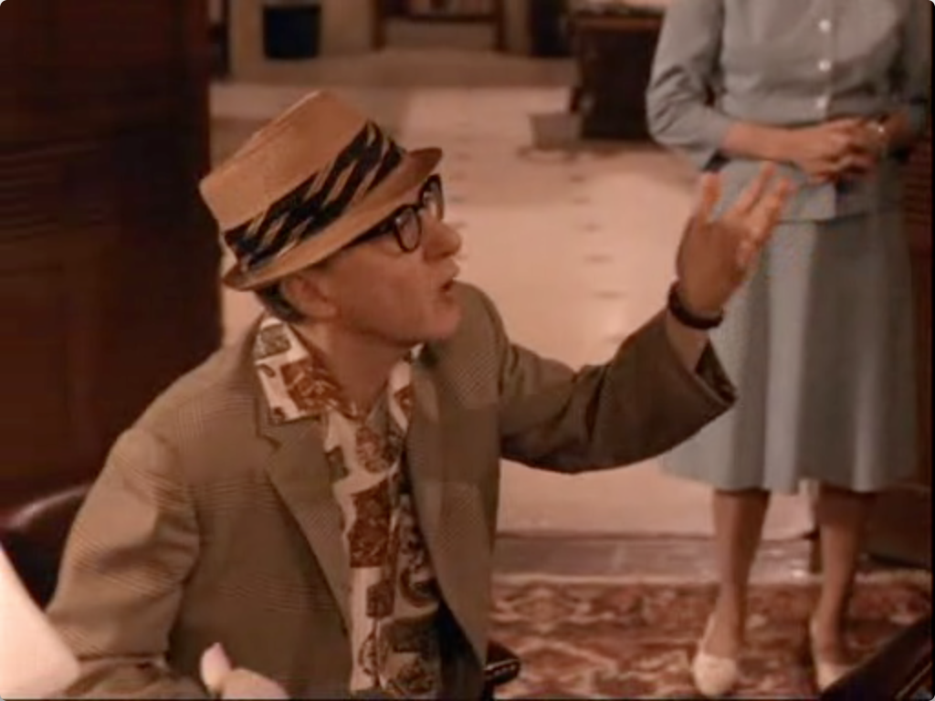 Woody Allen in Don't Drink The Water