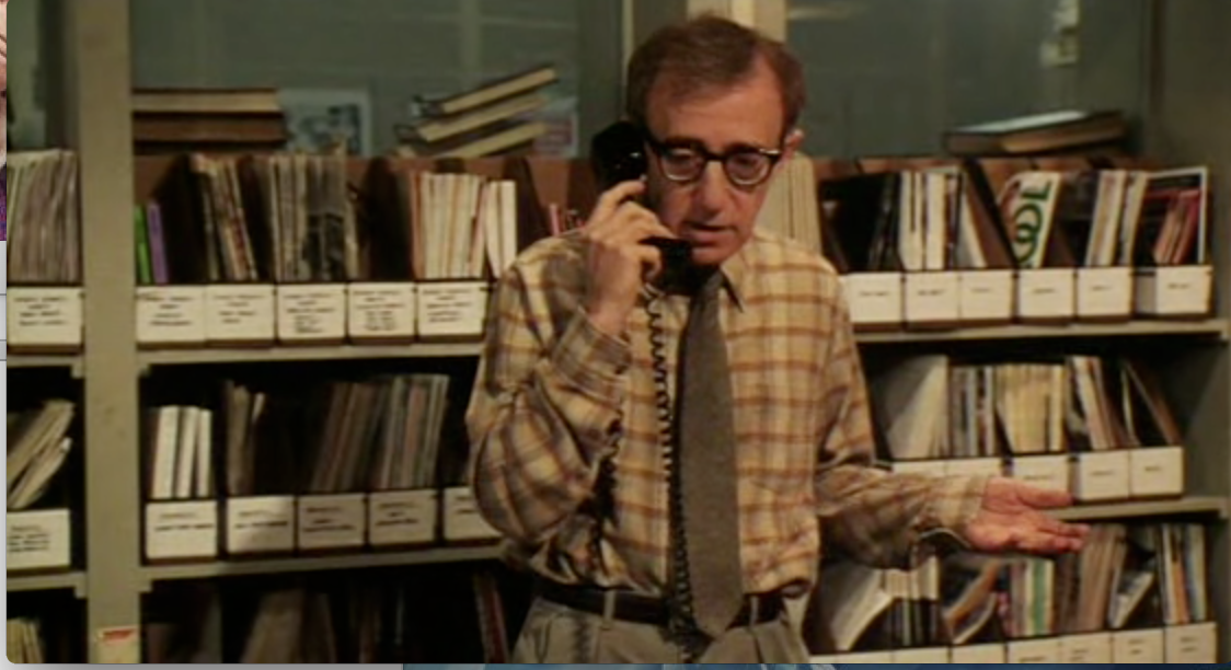 Woody Allen in Mighty Aphrodite