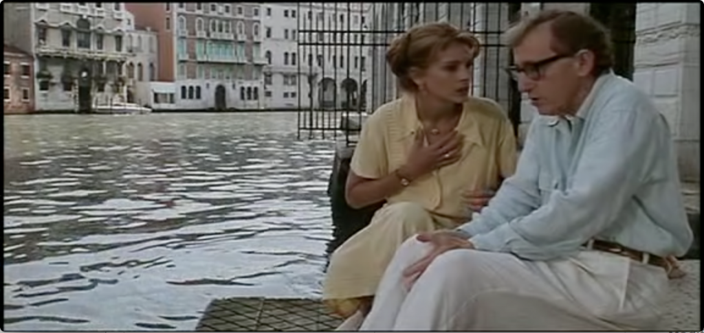 Julia Roberts and Woody Allen in 'Everyone Says I Love You'