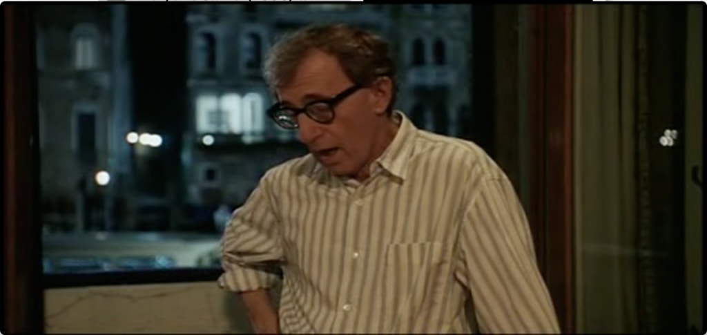 Woody Allen in 'Everyone Says I Love You'