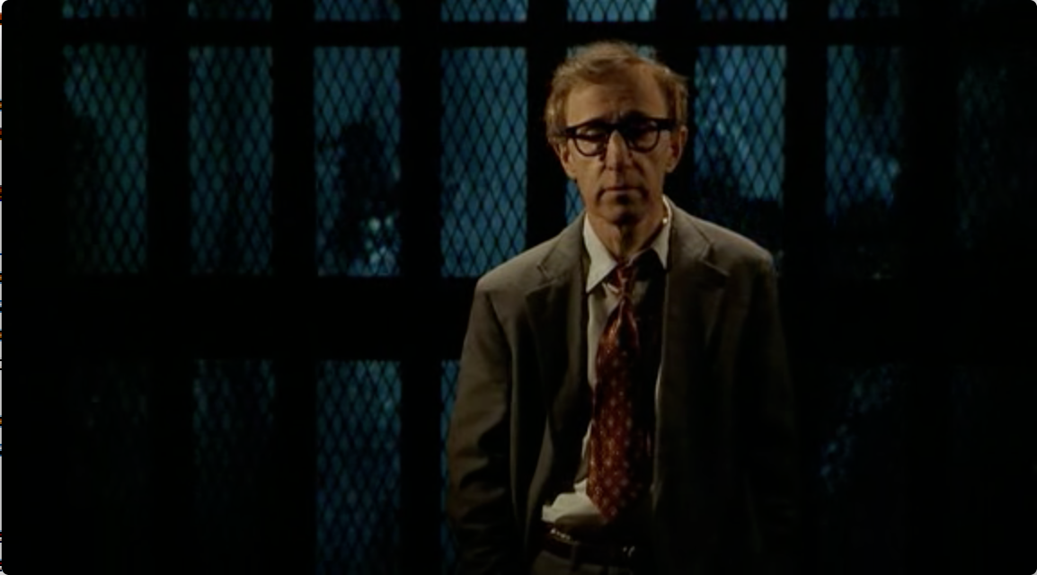 Woody Allen as Harry Block in Deconstructing Harry