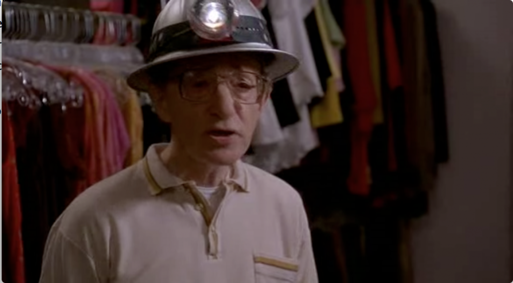 Woody Allen as Ray in Small Time Crooks