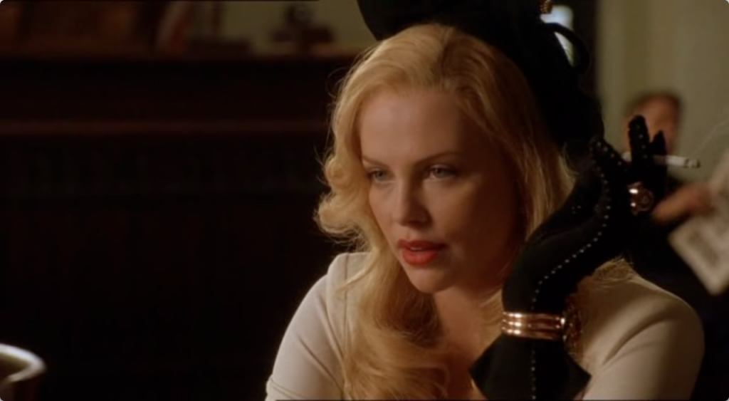 Charlize Theron in The Curse Of the Jade Scorpion