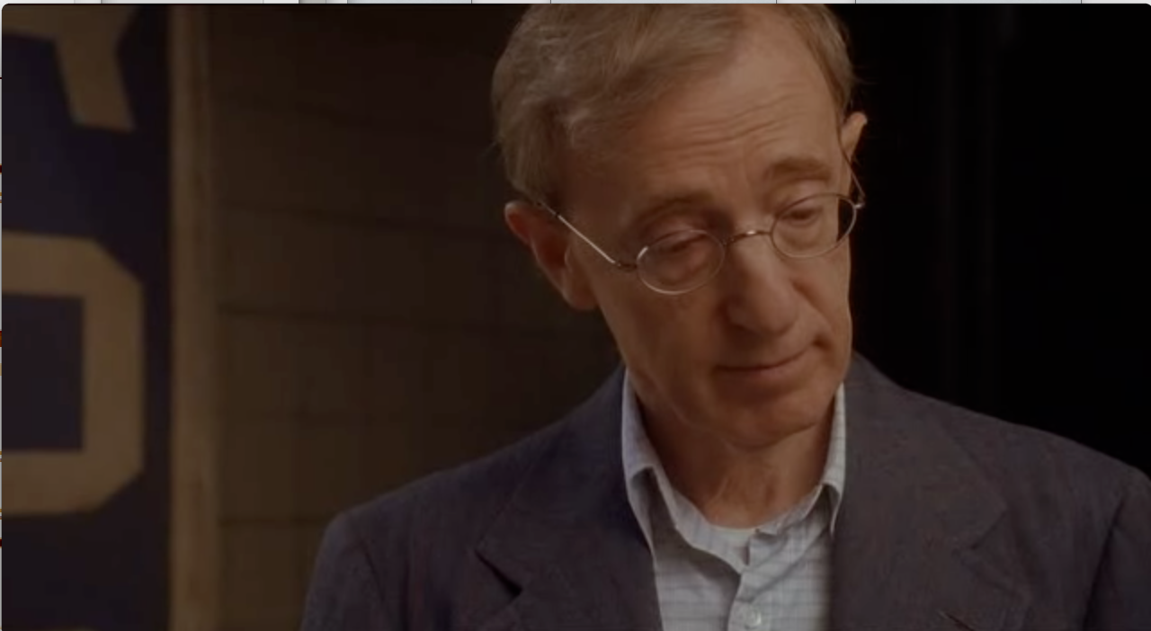 Woody Allen as CW Briggs in The Curse Of the Jade Scorpion