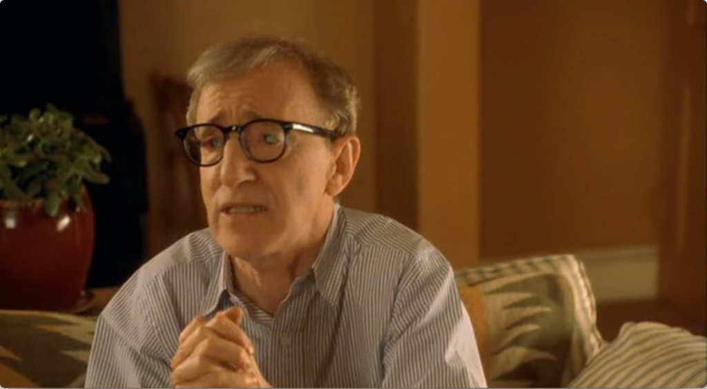 Woody Allen in Hollywood Ending