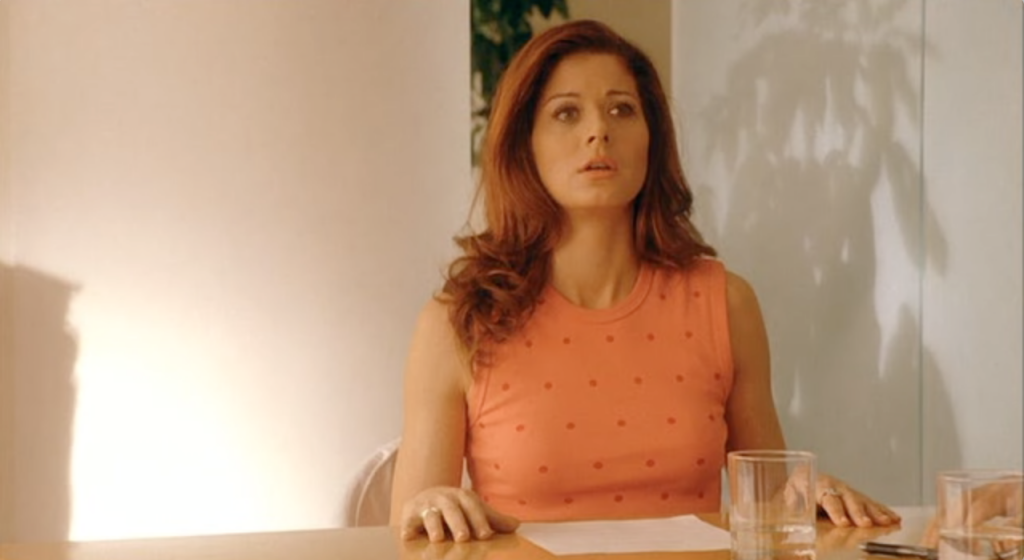 Debra Messing in Hollywood Ending