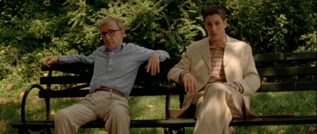 Woody Allen and Jason Biggs in 'Anything Else'