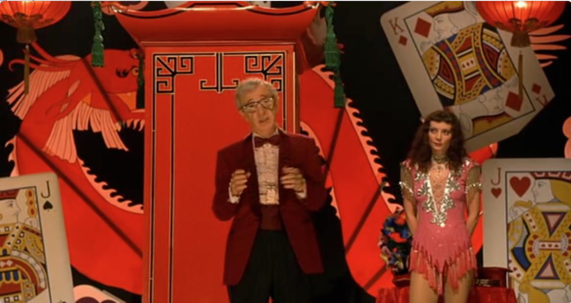 Woody Allen as the Great Splendini in Scoop
