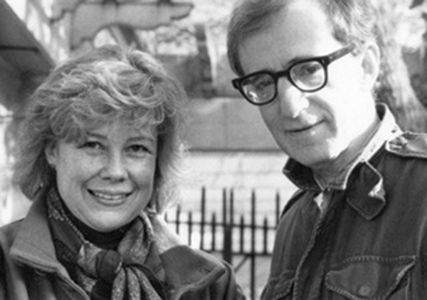 Juliet Taylor and Woody Allen