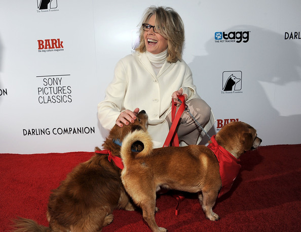 Diane Keaton and friends in 2012