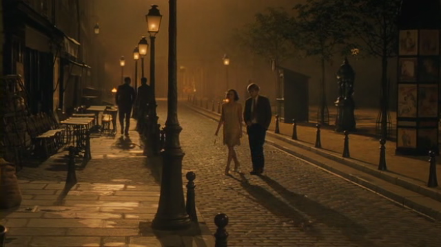 Paris, looking beautiful and mysterious