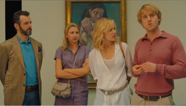 Michael Sheen, Nina Arianda, Rachel McAdams and Owen Wilson in Midnight In Paris