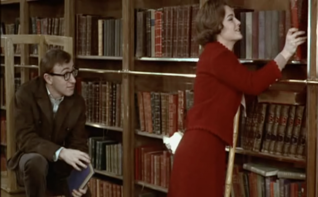 Woody Allen and Romy Schneider in 'What's New Pussycat?'