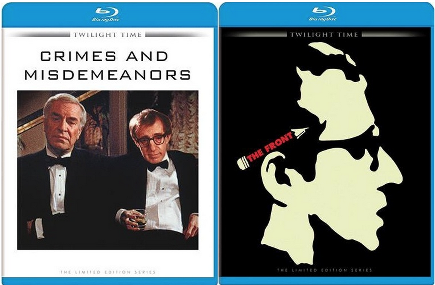 crimes and misdemeanors the front bluray preorders and
