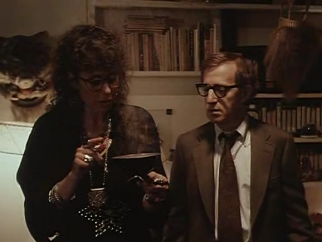 Julie Kavner and Woody Allen in New York Stories