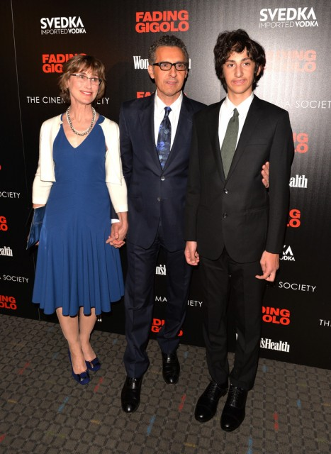 John Turturro and his family