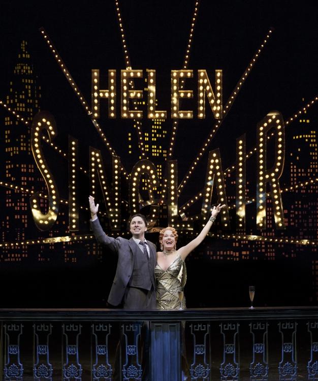 Helen Sinclair! Braff and Mazzie.
