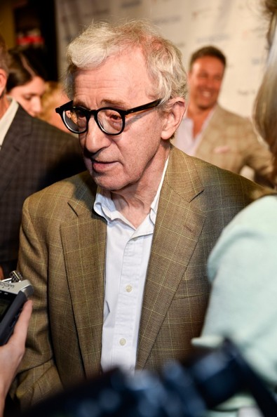 Woody Allen at the Chicago premiere of Magic In the Moonlight