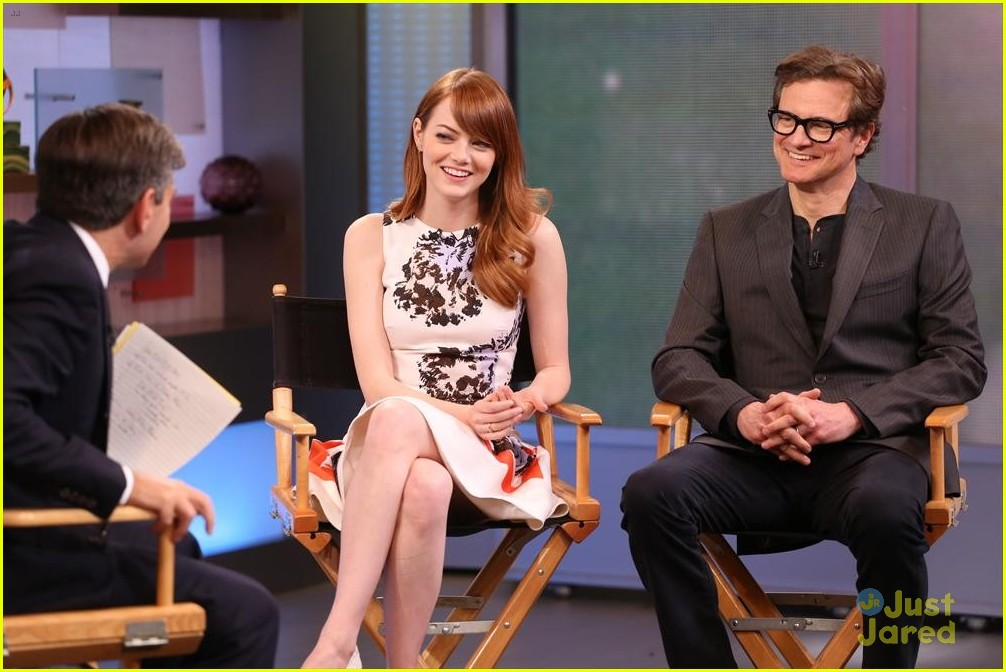 GEORGE STEPHANOPOULOS, EMMA STONE, COLIN FIRTH