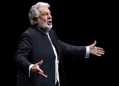 Placido Domingo, opening night