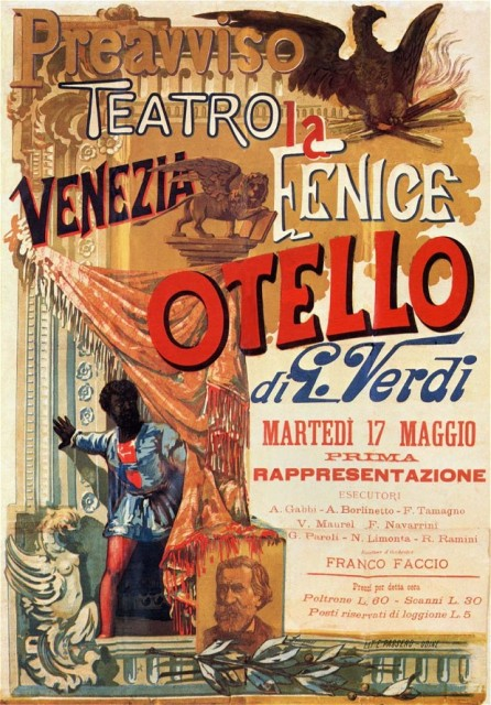 Poster from the Otello premiere