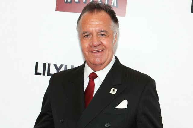 "NEW YORK, NY - NOVEMBER 19: Tony Sirico attends the ""Lillyhammer"" season 2 premiere at NYIT Auditorium on November 19, 2013 in New York City. (Photo by John Lamparski/WireImage)"