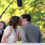 Kristen Stewart and Jesse Eisenberg smooch on Central Park!