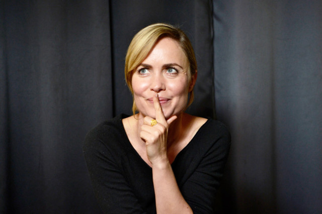 The Age, News 16/09/2014 picture Justin McManus. Actress Radha Mitchell.