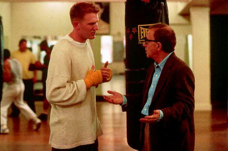 Michael Rapaport and Woody Allen, Mighty Aphrodite, 1995