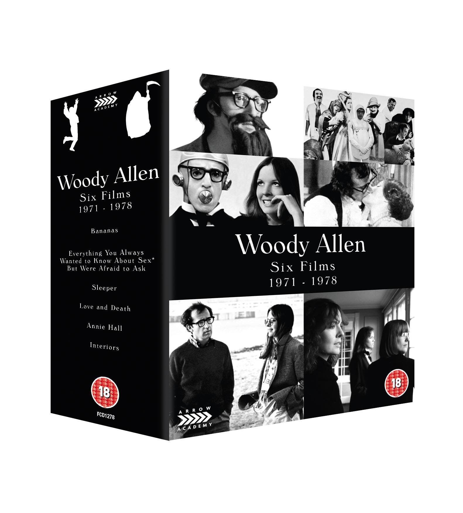 bananas news stories the woody allen pages uk blu ray distributor arrow have announced the release of a new woody allen box set the first box covers six of allen s films from the 70s