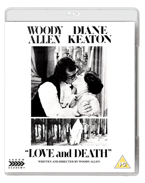 Love And Death UK blu-ray