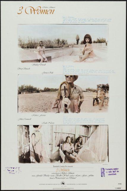 3 WOMEN - American Poster by Dan Perri and Jean Pagliuso