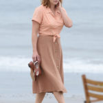 Kate Winslet, Juno Temple and Justin Timberlake filming Woody Allen Project in NYC