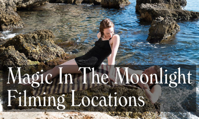 Magic In The Moonlight Filming Locations - Nice, Menton
