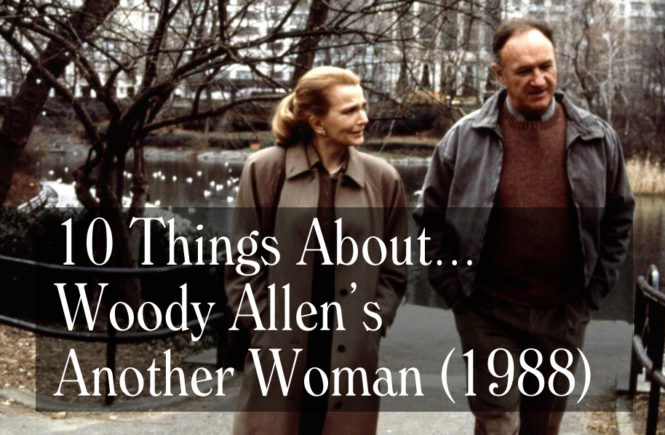 things about news stories the woody allen pages our latest video essays looks at one of allen s least popular films 1988 s another w released in 1988 it was only allen s third drama